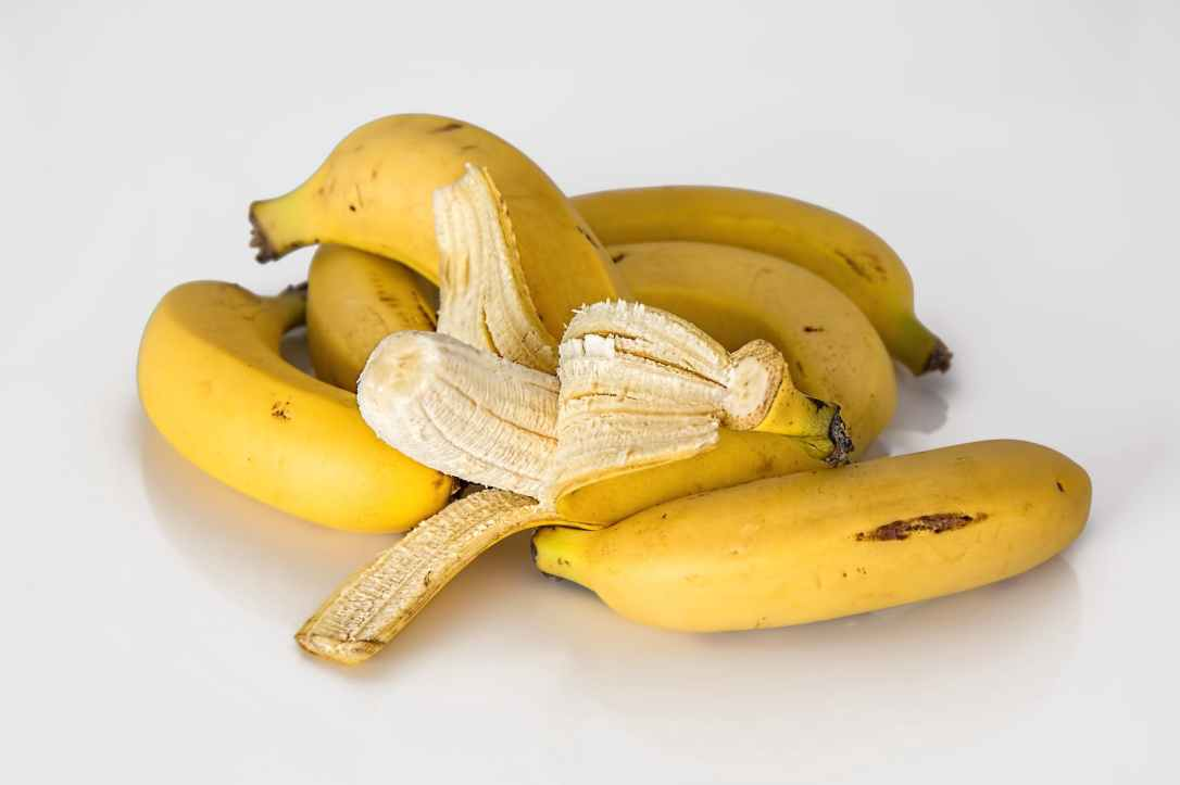 healthy yellow banana fresh