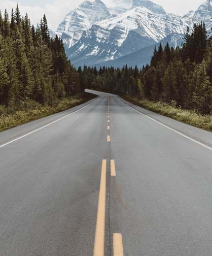 road-mountains